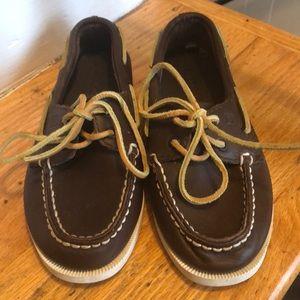 SPerry size 12 Boys Boat Shoe